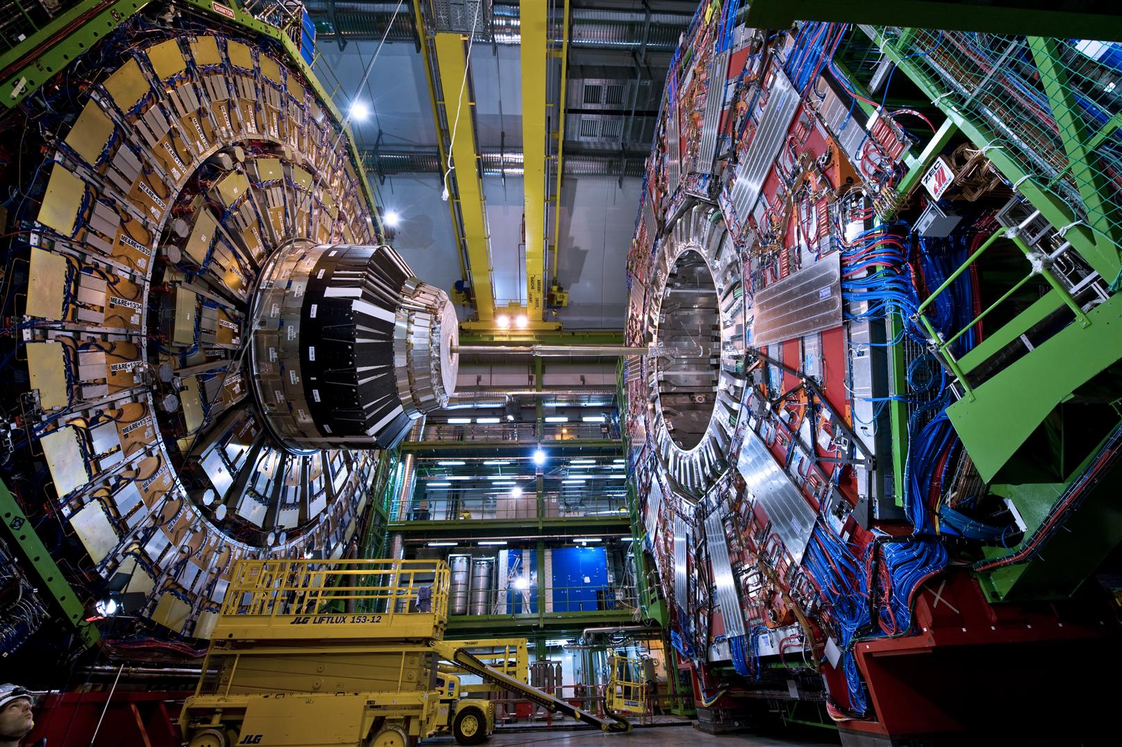 Amazing! CERN Opens a Universal Portal Ahead of Pope's ...